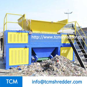 TCM-DR600 double rolls shredder