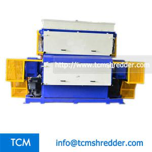 TCM-SV2200 swing arm single shaft recycling machine