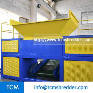 TCM-DR2000 double rolls recycling machine
