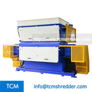 TCM-SV2500 swing arm single shaft shredder