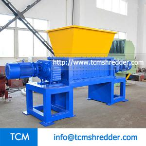 TCM-DS1500 double shafts shredder recycling machine