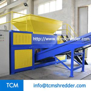 TCM-DR800 double rolls shredding machine