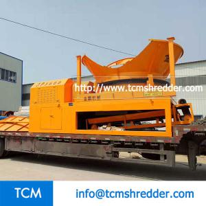 TCM-JP3600 round stump shredding machine