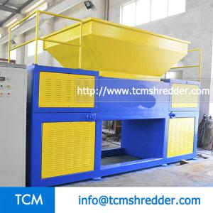 TCM-DR1500 double rolls shredder machine