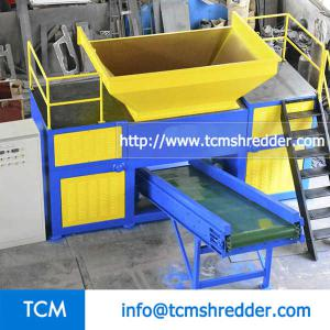 TCM-DR1200 double rolls shredder