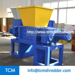 TCM-DS1000 two shafts recycling shredder machine