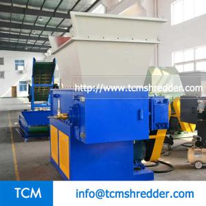 TCM-S1000 single shaft recycling shredder