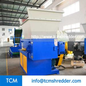 TCM-S600 single shaft recycling shredder machine
